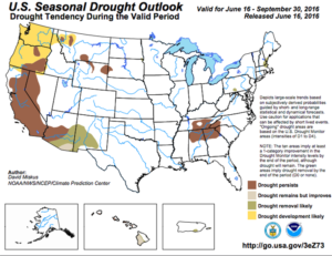U.S. Seasonal Drought Outlook